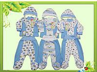 Комплект для новорожденных с интерлока