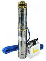 Глубинный насос QGDa 2.0-60-0.75 шнэк с пультом управления