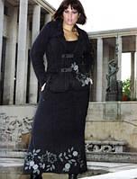 АКЦИЯ! Костюмы теплые юбочные Giani Forte, Франция, хлопок. Размеры: с46 до 54. К нему КОСТЮМ Paris в подарок!