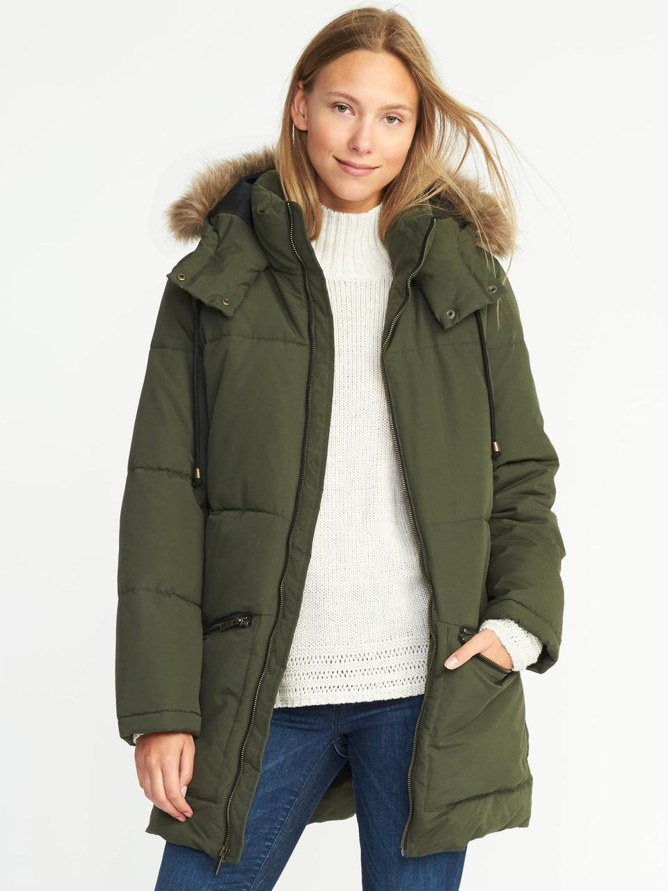 Женская куртка-парка Old Navy р.54-56 куртки женские зимние , цена 1 ... 67a5fbc5a85