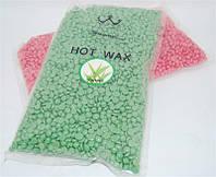 Воск для депиляции Konsung Hot Wax YVG-07 в гранулах 500 гр (чайное дерево), эпиляция воском, депиляция воском, депилирующий воск, воск для удаления