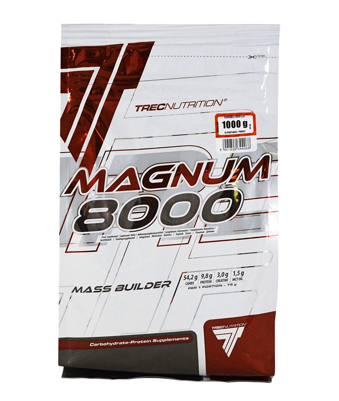 Гейнер TREC nutrition Magnum 8000 1 kg