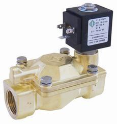 Электромагнитный клапан для воды нормально открытый G1 1/2, (ODE, Italy)