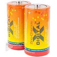 Батарейка X-DIGITAL R14, Carbon-Zinc, С, (Ціна за 12 шт.) Батарейка для радіоприймача X-DIGITAL R14