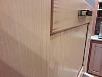 Пенал деревянный с нишей для котла