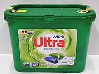 Капсулы для стирки Ultra white, 20 шт.