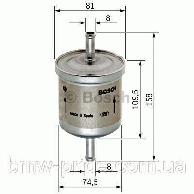 Фильтр топливный Е 23,24,28,30,34 BOSCH 0450905030