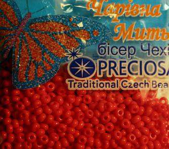 Бисер Preciosa (Чехия) 5гр №10