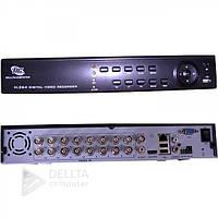Відеореєстратор стаціонарний DVR WIFI 3G 8016 HDMI 4AUDIO, 16-каналів, VGA, USB-порт, Н.264, 12В, Linux, Відеоспостереження DVR WIFI 3G 8016 HDMI