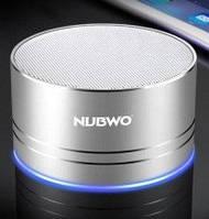 Беспроводной мини колонка портативный динамик NUBWO  Bluetooth  A2 Pro SILVER