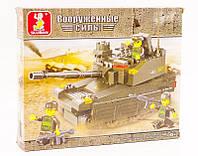 """Конструктор Sluban M38-B0285 """"Танк Леопард-2А6М"""" 217 деталей, фото 1"""