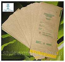 Крафт пакети для стерилізації 100шт Стеримаг Медтест 100*200мм