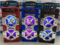 Колонки Bluetooth+FM JHW-QS