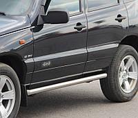 Подножки, Трубы на Niva Chevrolet (c 2002---) Шевроле Нива PRS