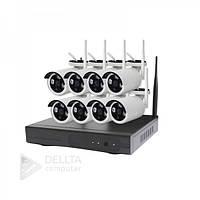 Бездротовий комплект відеоспостереження на 8 камер CT-NW6308, HDMI, VGA, USB 2, Система відеоспостереження