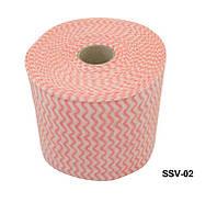 Серветки для знежирення YRE SSV-02 в рулонах, кольорові, знежирюючі серветки, одноразові косметичні серветки, серветки для салону краси