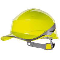 Каска защитная строительная Diamond 5 желтая