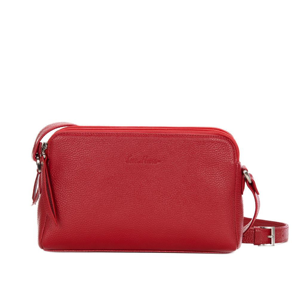 Женская кожаная сумка Issa Hara Рита (15-00) красная – купить в ... 6234e1e75e25d