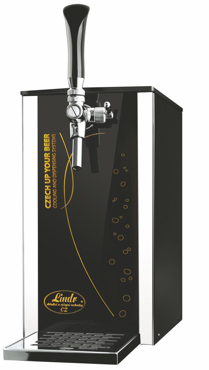 Охладитель напитков надстоечный 25 л/ч сухой - Pygmy 25/K Exclusive, с насосом, 1 кран, Lindr, Чехия