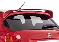 Спойлер багажника Nissan Juke 2010+ г.в. (Красный цвет)