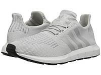 Кроссовки/Кеды (Оригинал) adidas Originals Swift Run Grey One/Silver Metallic/Footwear White, фото 1
