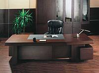 Кабинет руководителя в Киеве под заказ, элитные кабинеты для директора из массива ценных пород дерева на заказ, фото 1
