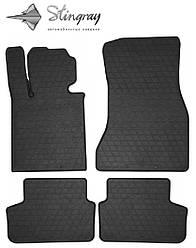 BMW 5 (G30) 2017- Комплект из 4-х ковриков Черный в салон. Доставка по всей Украине. Оплата при получении