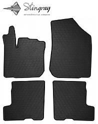 DACIA-RENAULT Sandero Stepway 2013- Комплект из 4-х ковриков Черный в салон. Доставка по всей Украине. Оплата при получении