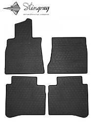 Mercedes-Benz W222 S long 2013- Комплект из 4-х ковриков Черный в салон. Доставка по всей Украине. Оплата при получении