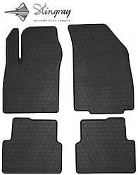 Chevrolet Cobalt II 2012- Комплект из 4-х ковриков Черный в салон. Доставка по всей Украине. Оплата при получении