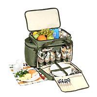 Набор для пикника на 6 персон , пикниковый набор КЕМПИНГ HB6-520