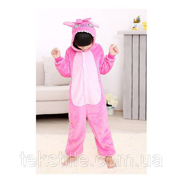 Кигуруми для детей Стич розовый