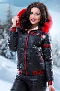 Зимний зимний женский костюм
