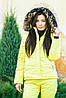 Женский синтепоновый спортивный костюм зимний