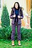 Женский синтепоновый спортивный костюм зимний, фото 2