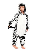 Детская Пижама Кигуруми Зебра 10883