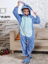 Кигуруми для детей Стич голубой