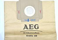 Мешок (пылесборник) для пылесоса AEG Electrolux 900087600 (900087600/4) GR28 одноразовый