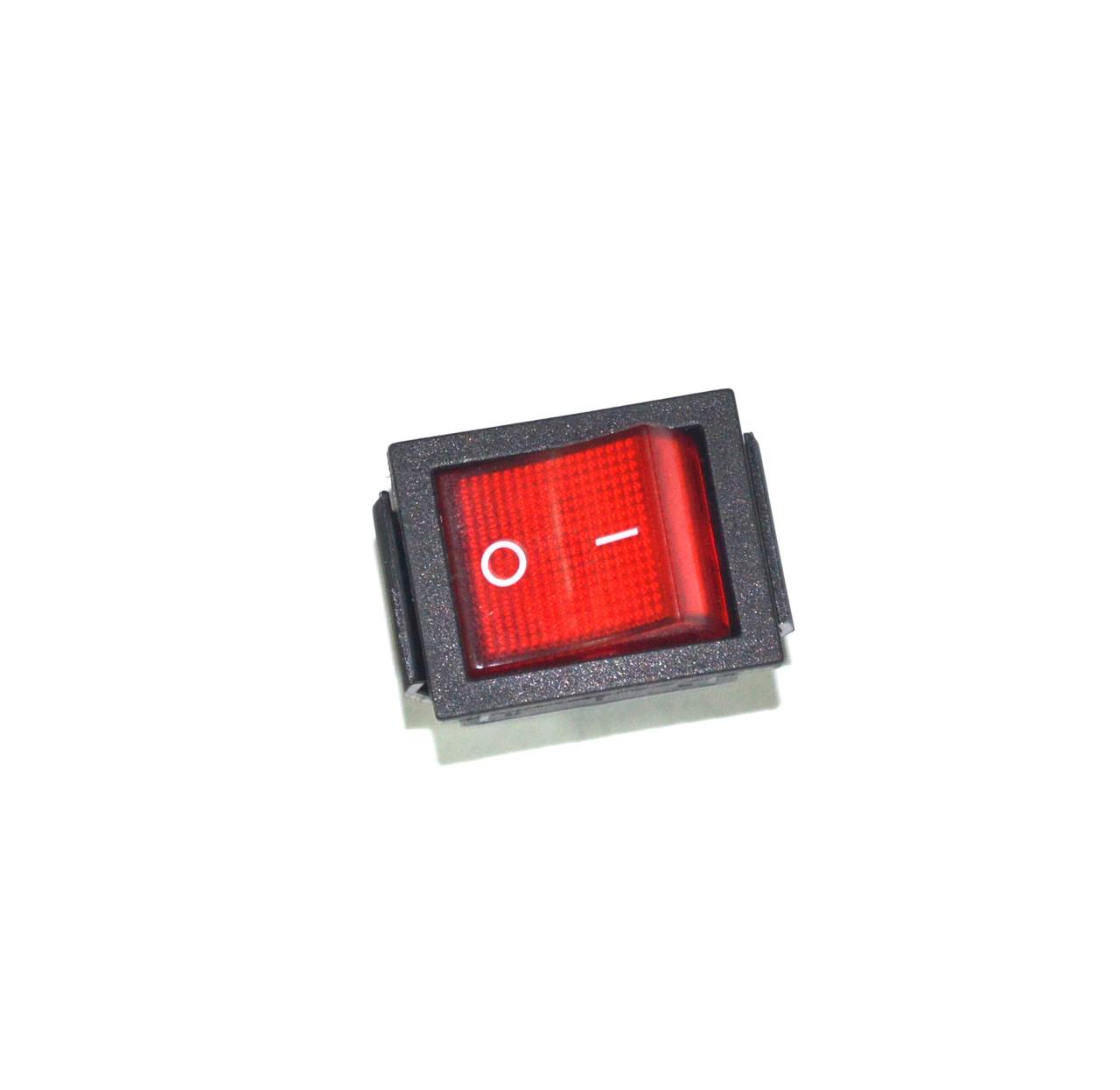 Кнопка Daier KCD2-201N (IRS-201) 220V красная ON-OFF.Две группы.16A ... 34b1ce9b2f4