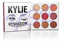 Палетка теней Kylie Cosmetics Kyshadow The Burgundy Palette УЦЕНКА