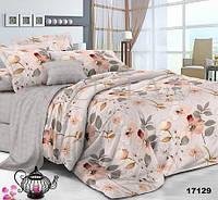 Полуторный набор постельного белья 150*220 из Ранфорса №17129 Viluta™
