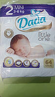 Подгузники (Дада) Dada Little one 2 mini (64 шт) 3-6 кг