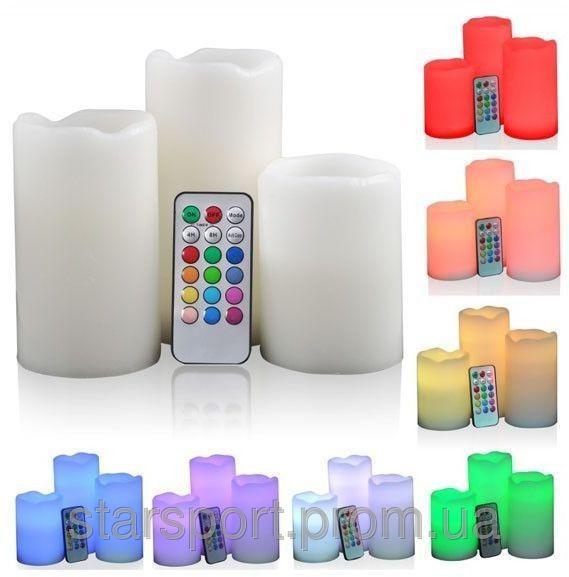 Свечи электронные с пультом Luma Candles