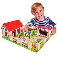 Игровой набор Ферма с животными Eichhorn 4304