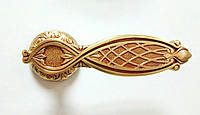 Ручка дверная на розетке Pasini RAMSES французское золото