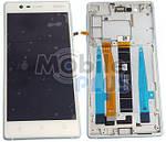 Nokia 3 Дисплейный модуль с сенсорным экраном, Silver, оригинал, 20NE1SW0001