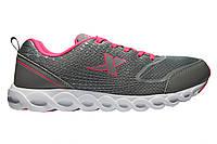 Женские кроссовки Xtep Running shoes «Grey red» Р. 36 38 39 40 41