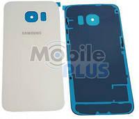 Батарейная крышка для Samsung G925 Samsung Galaxy S6 Edge (White)