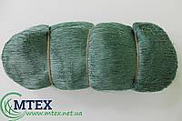 Ячейка 50 мм. Ширина 100 ячей. 29tex*3 (0.45 мм.) Пластина сетная ниточная узловая капроновая (полиамидная).