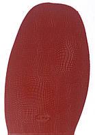 Подметка резиновая FAVOR-рептилия, т. 1.5 мм, р. средний, цв. темно-красный (3)